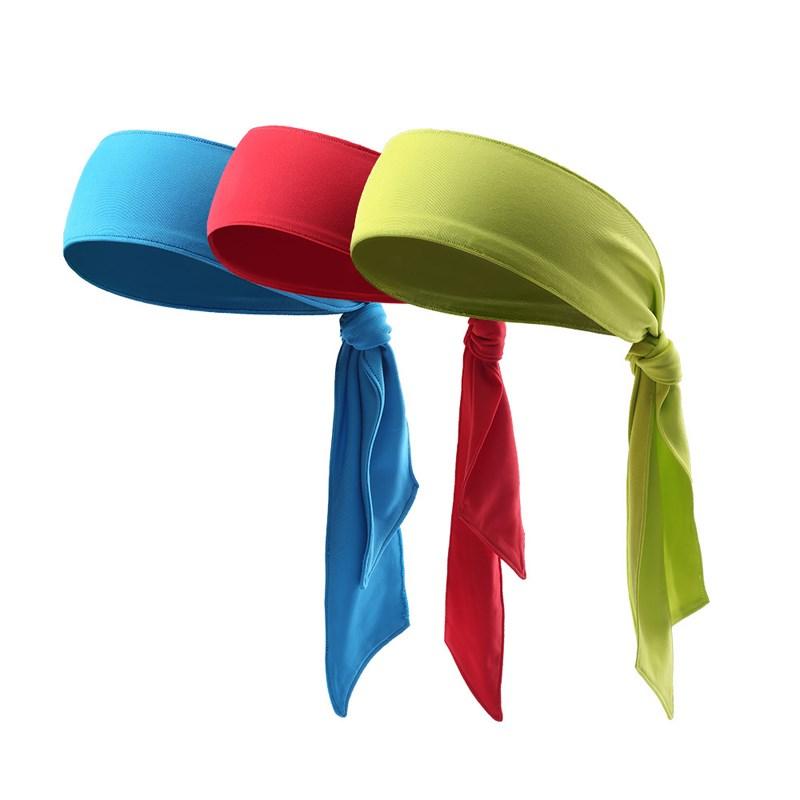 Tie Back Sport Headband With Custom Logo 7fe1a892979