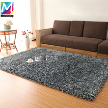 Luxury Poly Ombre Shag Rug Modern Plush Indoor Shaggy Carpet Mat