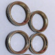 Knurling Decorative Round Insert Brass M10 Nuts M2 M3 M4 M5 Zinc plated