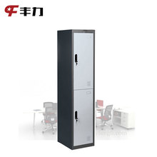 Office furniture manufacturer metal KD mini size clothes storage cabinet