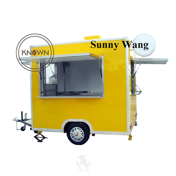 hot selling food carts/mobile hot dog cart for sale suits for food business