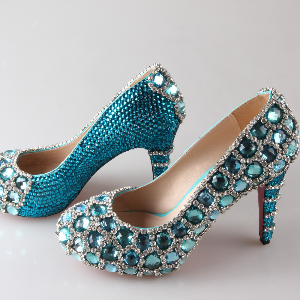 Turquoise Wedding Heels: Popular Aqua High Heels-Buy Cheap Aqua High Heels Lots