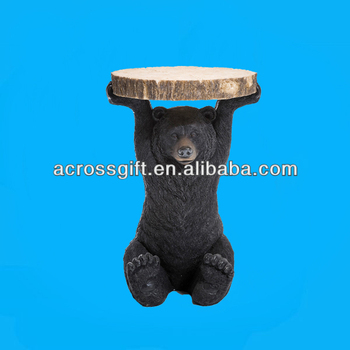 fancy polyresin bear coffee table - buy polyresin coffee table