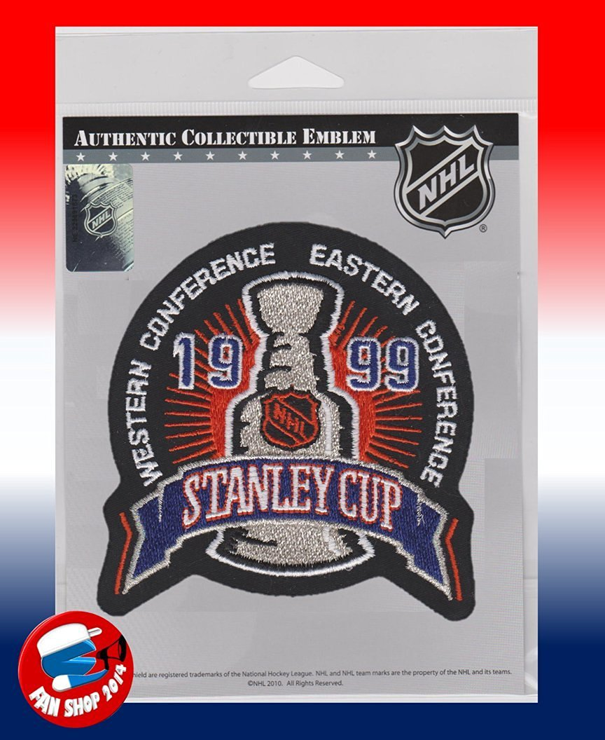 1999 STANLEY CUP FINAL PATCH DALLAS STARS VS BUFFALO SABRES