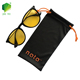 Custom Drawstring Microfiber 80%polyester20%polyamide 200GSM Cloth Glasses Sunglasses Jewelry Pouch Bag with Logo Printed