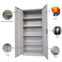 High quality steel storage cabinet,metal/wardrobe/cupboard/locker for gym/office/school/military/double door steel wall locker