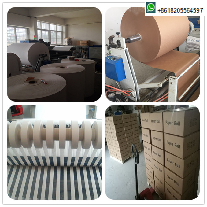 Hot Melt Adhesive Bond Mata Uang Kertas Roll 30 Mm Lebar Pita Banding Roll