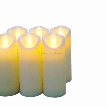 Ordinary battery powered aroma diffusing candle lamp led in China mainland factory for party lighting ornaments