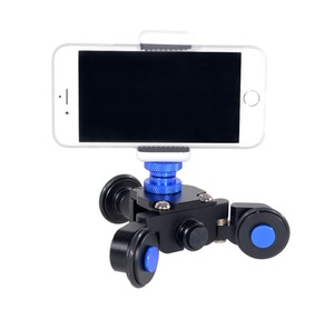 Kernel mini slider motor dolly skater for action camera smartphone and digital camera