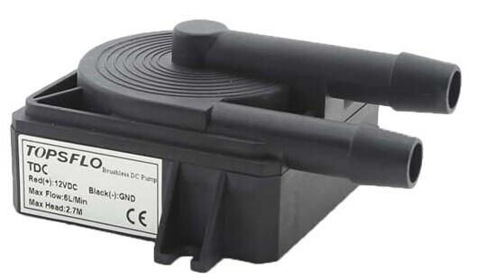 12v Dc Brushless Mini Marine Engine Cooling Pump