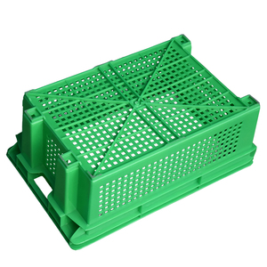 Heavy duty hdpe stackable industrial plastic crate price