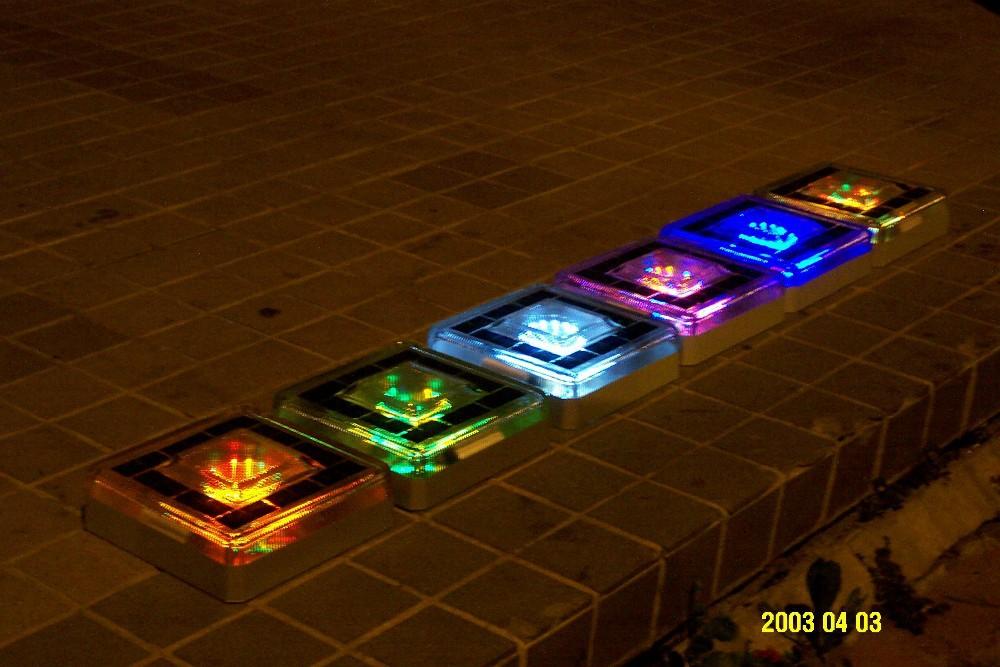 Underground Solar Lighting Multi Color Path Garden Solar Led Brick Light - Buy Underground Brick ...