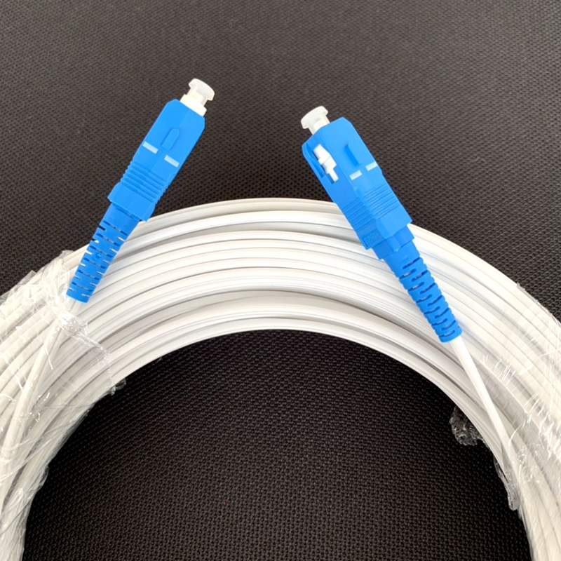 100 M Serat Optik Patch Kabel Jumper untuk FTTH Indoor DROP