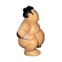 Custom sumo wrestler PU foam anti stress ball toys