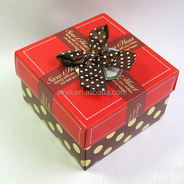 Nice Chinese Paper Candy Box Wedding Favors