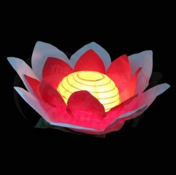 Biodegradalbe Artificial Paper Lotus Flowers Chinese Lanterns