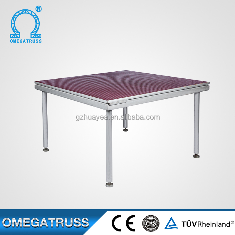 Factory price custom made size aluminum stage platform