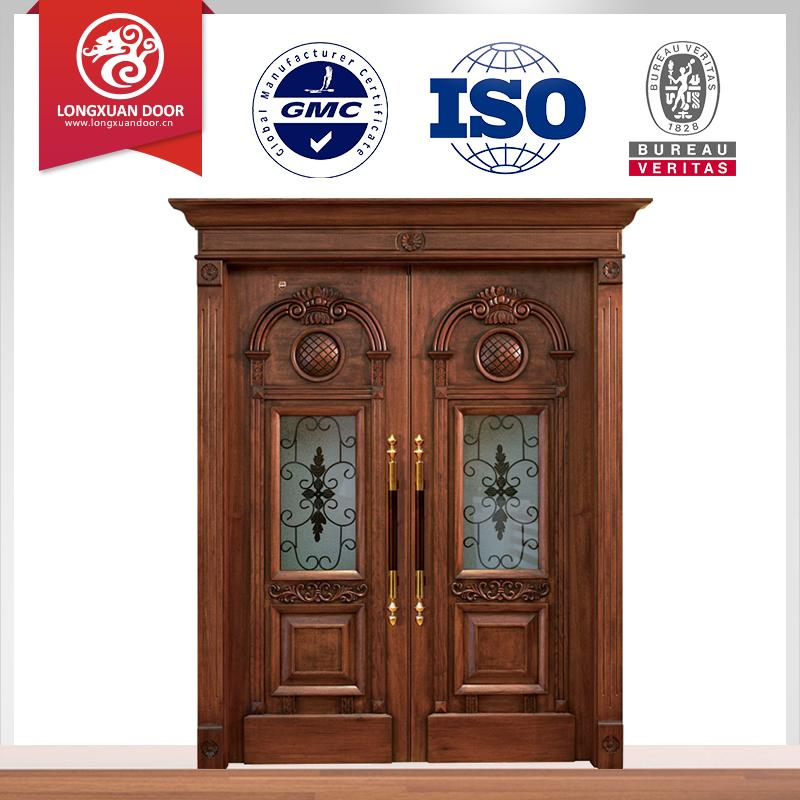 Surprising Used Wood Exterior Doors Double Wood Door Exterior Villa Double Largest Home Design Picture Inspirations Pitcheantrous