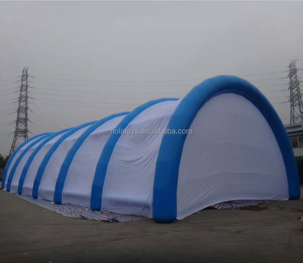 2016 blue and white wedding marquee/inflatable tent/wedding tent