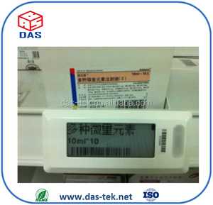 2.1 inch digit customization eink ESL 216*42 with TCP/IP interface