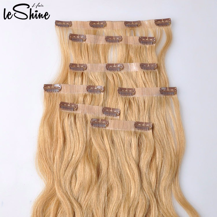 Seamless Clip In Remy Human Hair Extensions For White Women Buy Pu