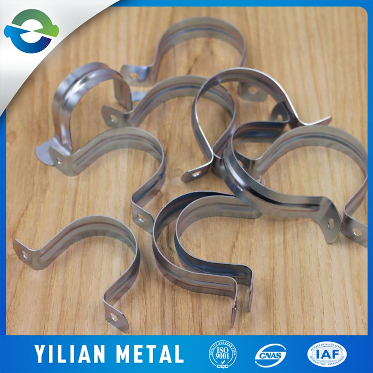 Chinese manufacturers supply pipe clamp bracket pipe clamp fitting round tube clamp