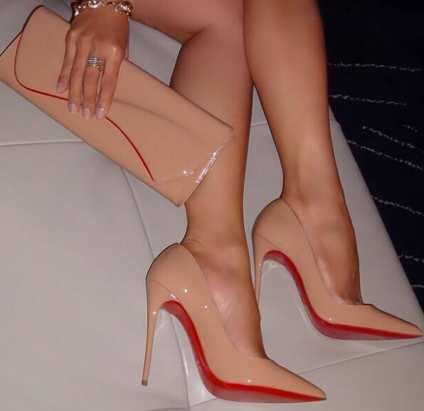 c5e5e4f849d 3 inch red bottom heels