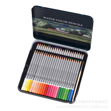 Professional Artist Level Oil Wooden Colored Pencil Water Color Pencil Set For Watercolor