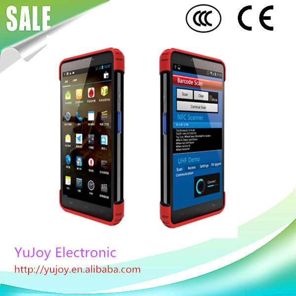 China Supplier Quad-core 7 Inch Touch Screen Handheld Pda Barcode ...