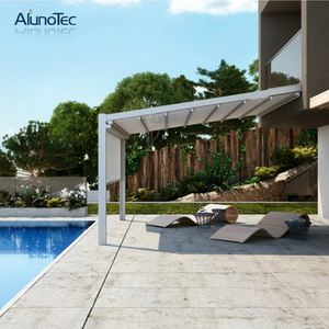 Customize Adjustable Retractable Awning China With Electric System