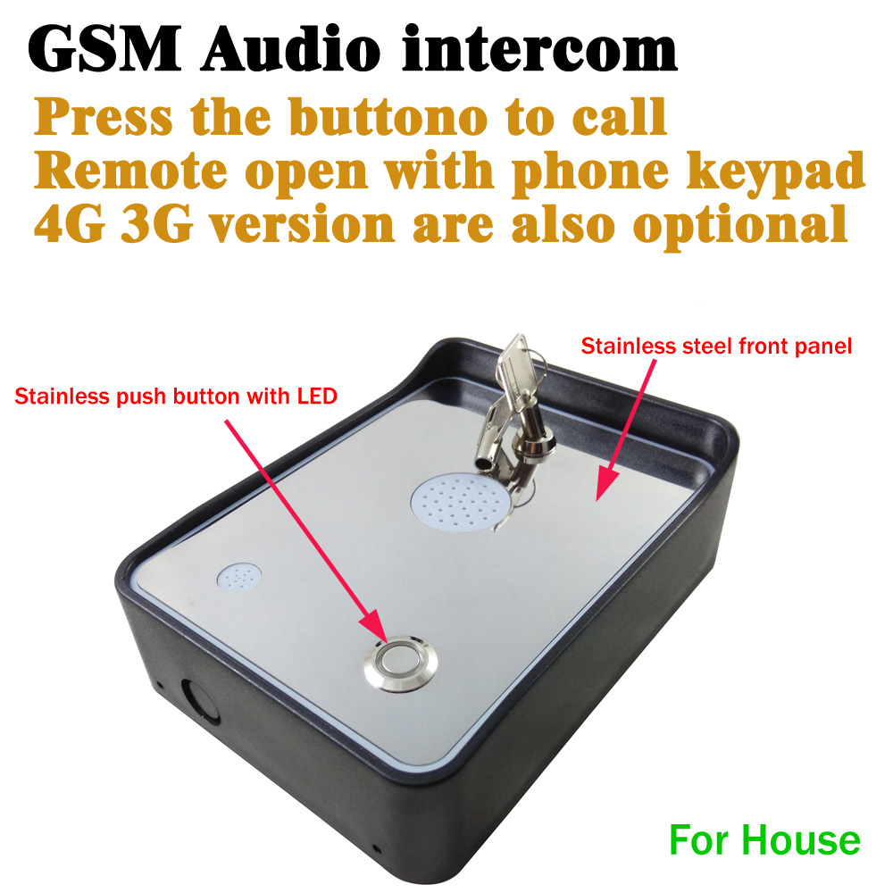 Back To Search Resultssecurity & Protection Access Control Accessories Gsm Intercom For Gate Opener Access Controller And Two Alarm Input For Home Safety Security Alarm Dc12v Version
