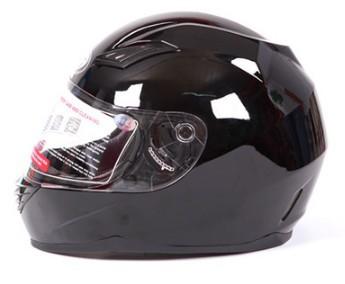 Dfg углеродного волокна мотоциклетный шлем электрический гоночный автомобиль шлем мужчины и женщины теплая зима выполнить 5-противотуманные шлем / ярко черный s-xxl