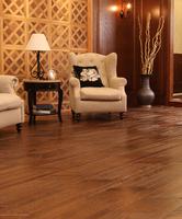 Antique natural wood parquet floor