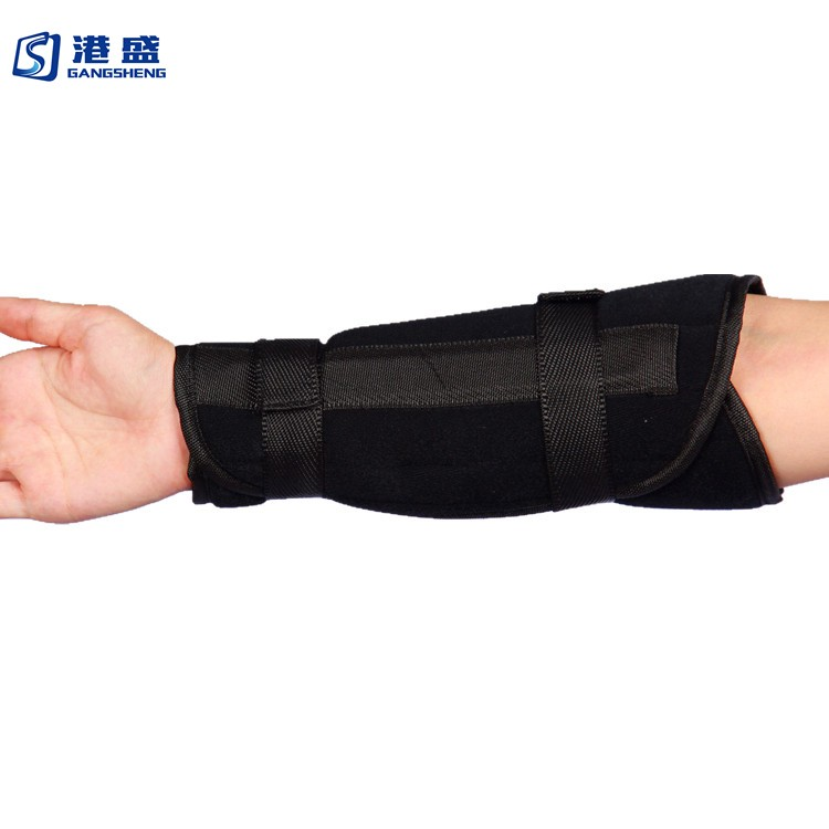 c4ab6e84ad Manufacturer supplied reinforced arm sleeve brace medical orthopedic splint  arm support for forearm fracture