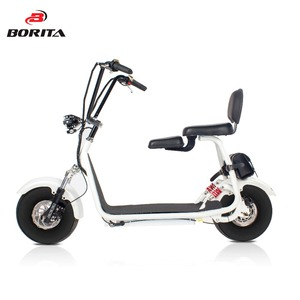 15 inch Comfortable Suspension system scooter fat tire electro scooter