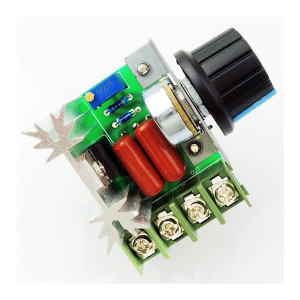 AC 220V 2000W 25A SCR materials led dimmer switch voltage regulator AC Motor Speed Controller with Knob