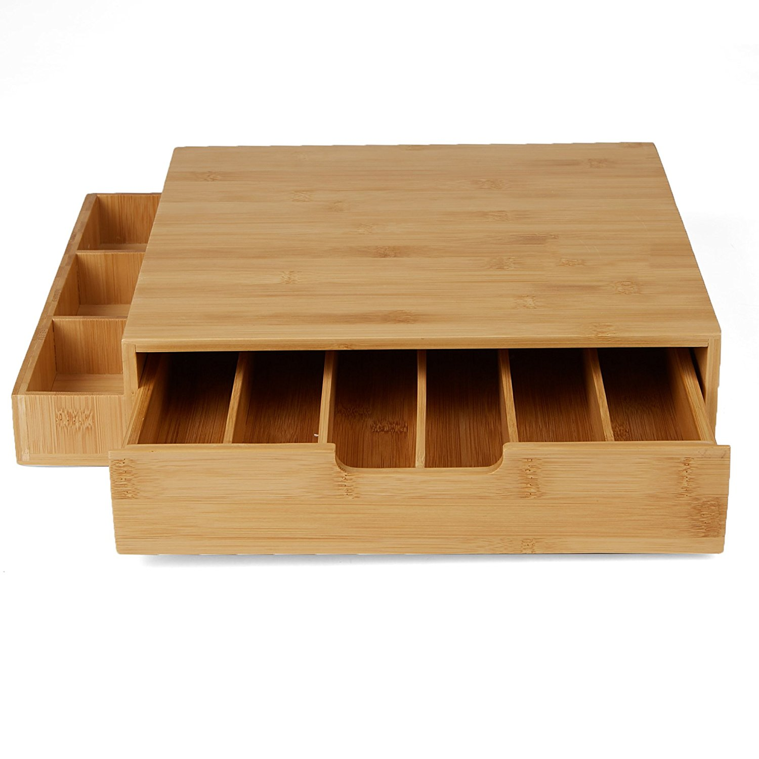 Natural Bamboo Material Coffee Capsule Holder Coffee Filter Holder For Wholesale 7