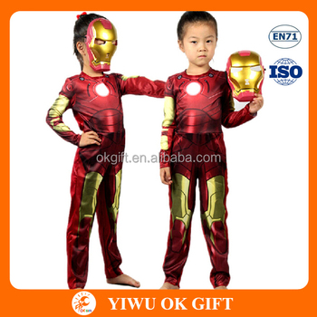 100% Polyester Ironman Costumes Superhero Costumes for Kids  sc 1 st  Alibaba & 100% Polyester Ironman Costumes Superhero Costumes For Kids - Buy ...