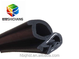 Car door rubber seals protective strips/window rubber weather stripping made in China