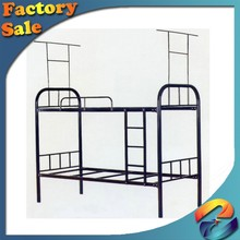 Wholesale Modern Commercial Metal double bed/hot style twin size mordern metal military adult bunk bed