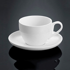 P&T porcelain coffee cups and saucers ceramics tea cup and saucers