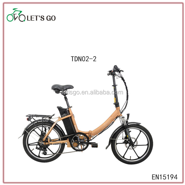 standerd hot sale en15194 TDN02Z foldable ebike