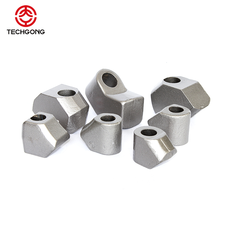Auger drilling tungsten carbide bullet teeth for Construction Machinery