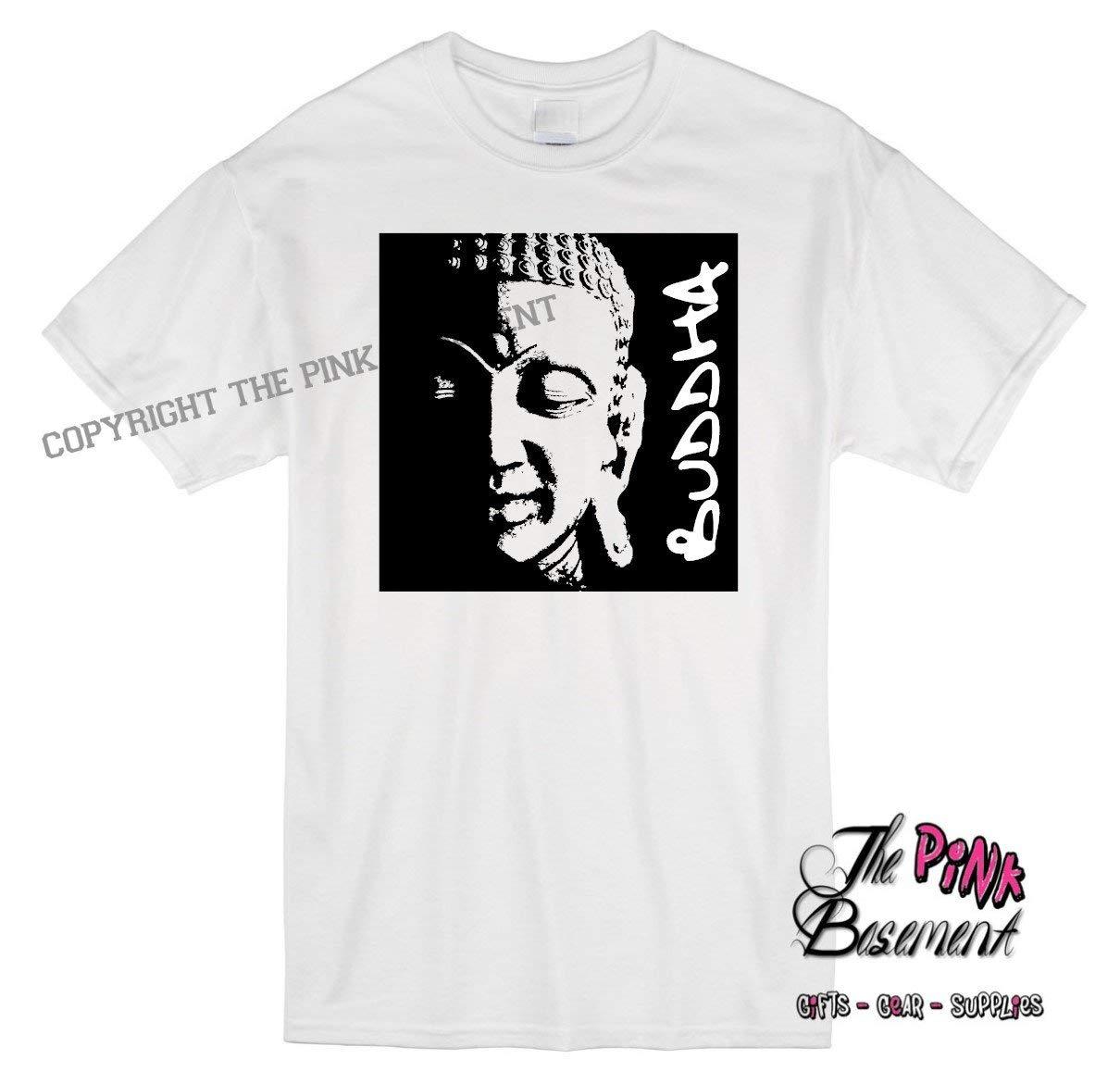 HANDMADE Adult Buddha religion religious zen Unisex Mens Womens Best Friend Tshirt T Shirt Ladies mens gift Humor Personalized Punk Goth Metal