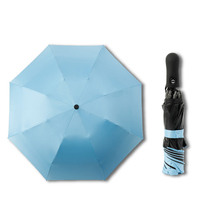 Travel Paraguas Windproof Compact Paraguas Auto Open Close Easy Touch fold Umbrella