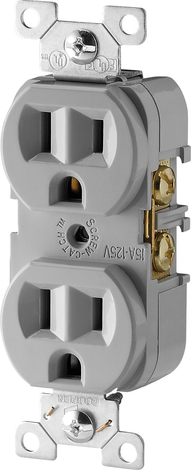 Cheap Nema 14 50 Wiring Find Deals On Line At Trough 12 Get Quotations Cooper Devices Cr15gy Sp L Commercial Grade Straight Blade Duplex Receptacle With 15
