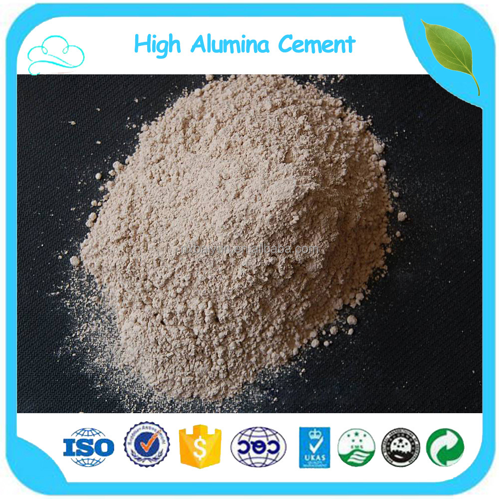 High Alumina Fire Cement : Mesh hoge aluminiumoxide vuurvaste cement aluminaat