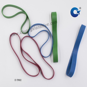 Elastic Colored Wide Rubber Bands for Stationery Office Use