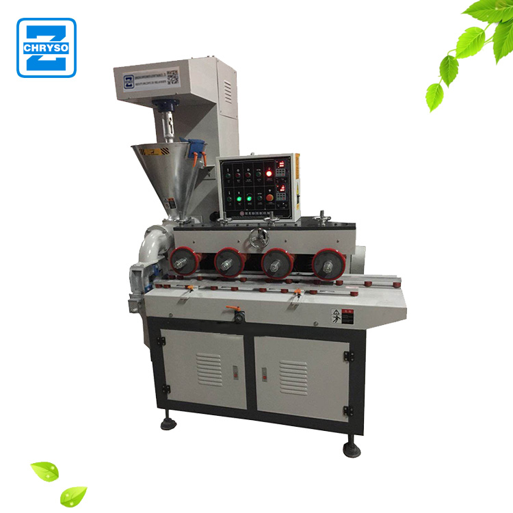 Factory new design wooden photo frame moulding gesso putty extruder machine with high quality