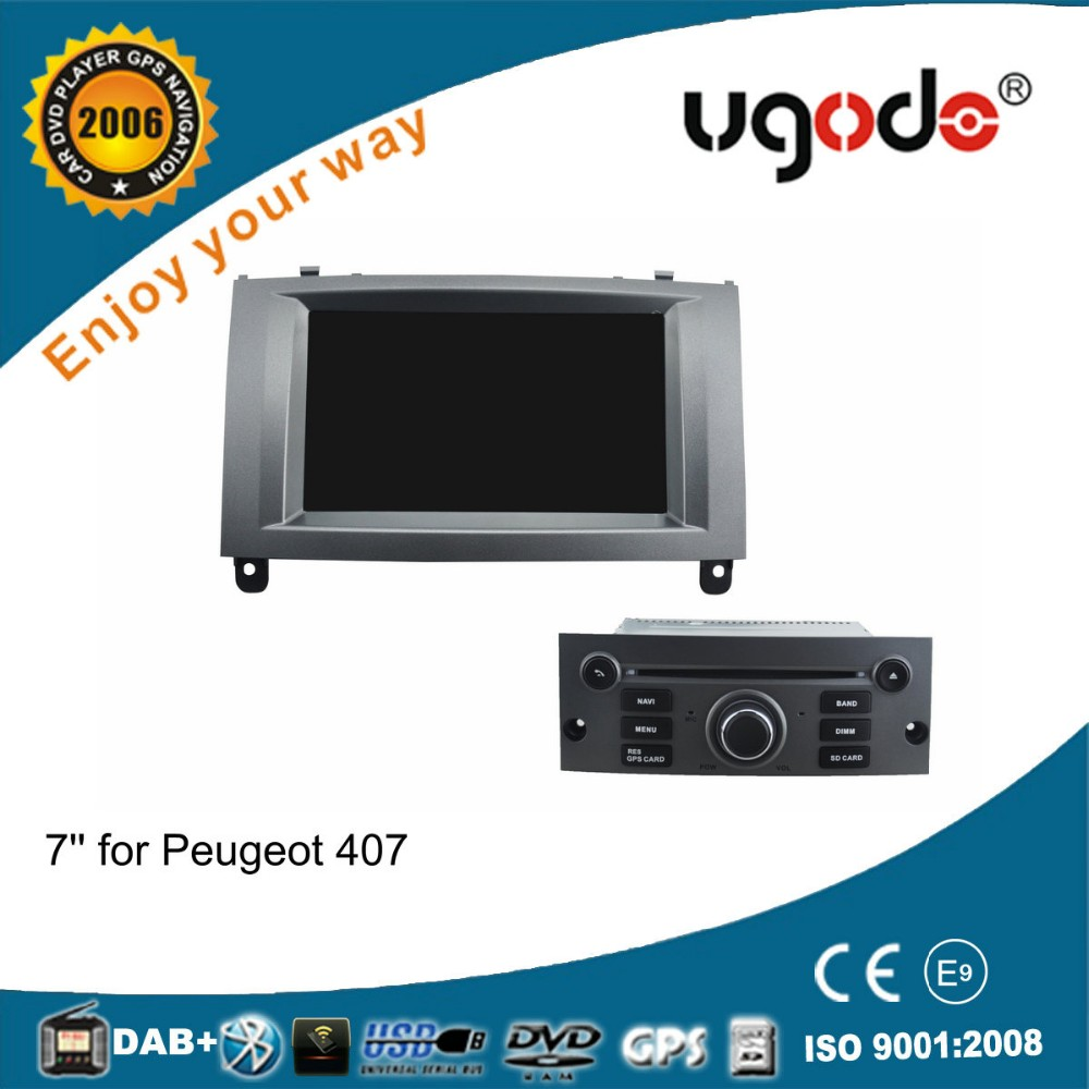 ugode android 5.1 OEM Wholesale special for Peugeot 407 multimedia player